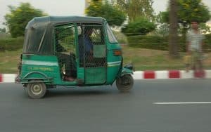 Bangladeş'te Taksi (CNG)