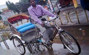 Bangladeş'te Bisikletli Ulaşım (Rikşa)