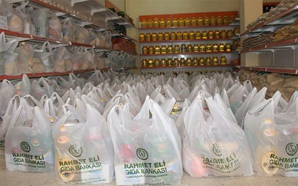 gıda bankası, gıda yardımı, giyim yardımı
